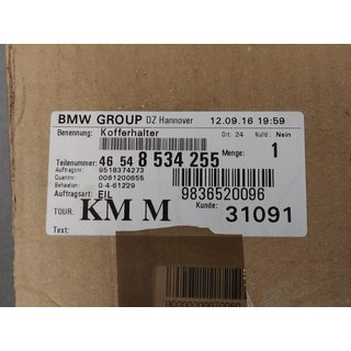 Original BMW Kofferhalter R1200 R1250 R RS 46548534255